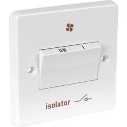 Crabtree Fan Isolator