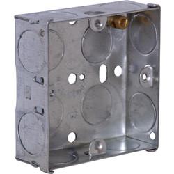 Metal Box 1 Gang