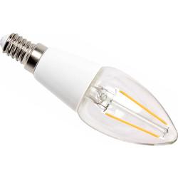 LED Filament Effect Candle Lamp