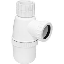 Telescopic Bottle Trap 76mm Seal