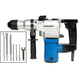 Silverline 850W 5kg SDS Hammer Drill