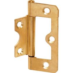 Brass Plated Flush Hinge