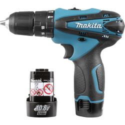 Makita HP330DWE LXT 10.8V Li-Ion Cordless Combi Drill
