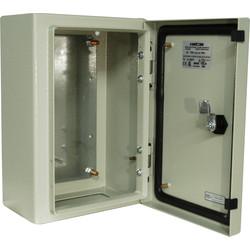 Steel Enclosure IP65 400 X 300 X 200mm Toolstation