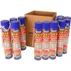 Contractors Foam 12 Pack