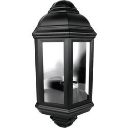 60W PIR Half Lantern