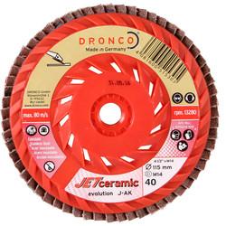 Dronco JAK Jet Ceramic Flap Disc