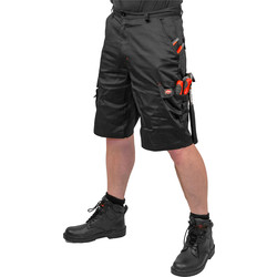 Lee Cooper Cargo Shorts 36 Quot Black Toolstation