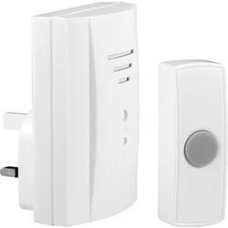 Byron Wireless Plug-In Door Chime Kit