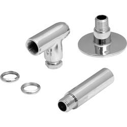 Gas Restrictor Elbow Kit Chrome