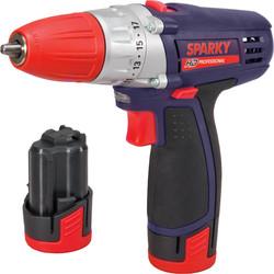 Sparky BR2 10.8V Li-Ion Cordless Drill Driver