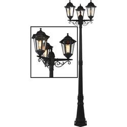 Bianca 3 Head 2.2m Post Lamp