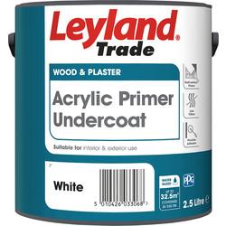 Leyland Trade Acrylic Primer Undercoat Paint