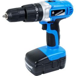 Silverline 18V NiCd Cordless Combi Hammer Drill