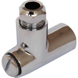 Gas Restrictor Elbow CP