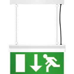 LED Emergency Exit Sign Light