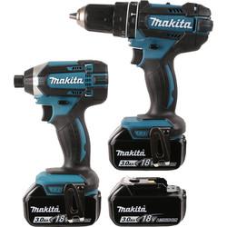Makita DLX2131JX1 18V Li-Ion Combi Drill & Impact Driver Twin Pack