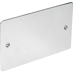 Flat Plate Polished Chrome Blank Plate
