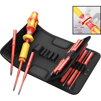 toolstation wera kraftform kompakt vde adjustable torque screwdriver set 15 piece. Black Bedroom Furniture Sets. Home Design Ideas