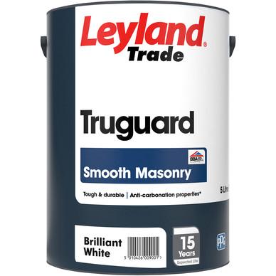 Leyland Trade Truguard Smooth Masonry Paint Brilliant