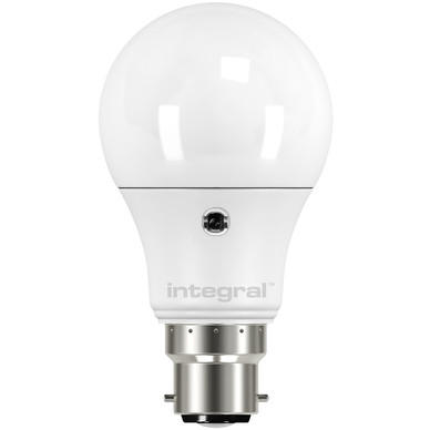 integral led gls dusk till dawn sensor 6 5w warm white. Black Bedroom Furniture Sets. Home Design Ideas