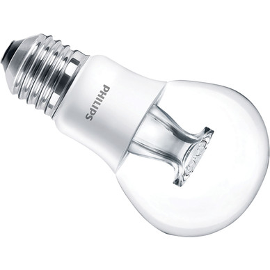 philips led warm glow dimmable a shape lamp 6w es 470lm. Black Bedroom Furniture Sets. Home Design Ideas