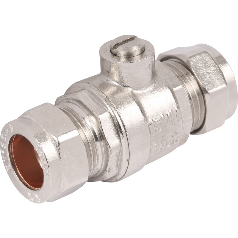 how to add water valve for retic off copper pipe