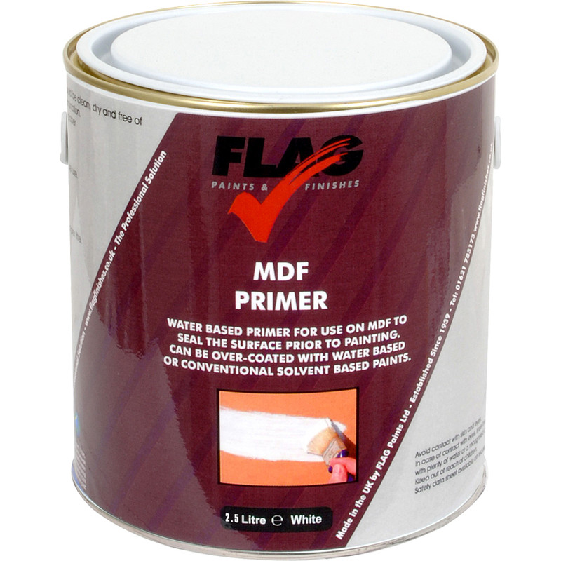 mdf primer paint 2 5l toolstation. Black Bedroom Furniture Sets. Home Design Ideas
