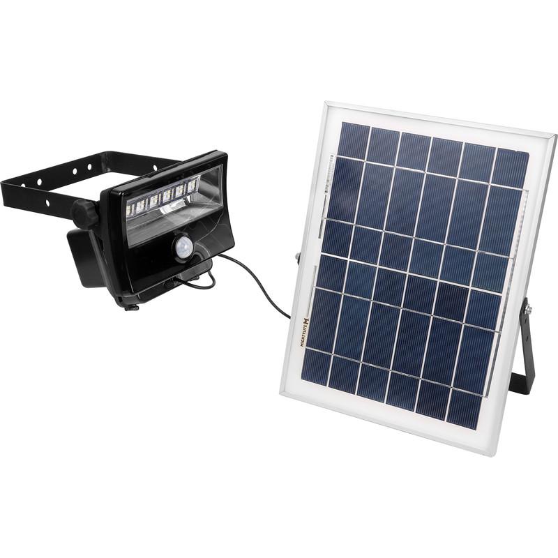 Mighty Lite Led Solar Pir Floodlight Ip65 28w 2000lm