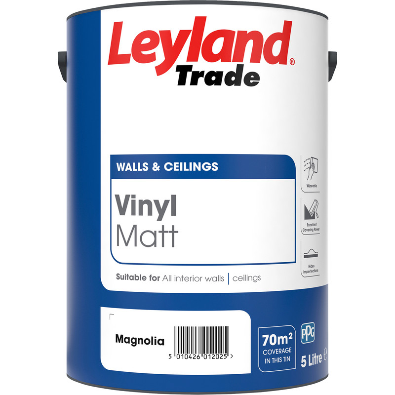 Painting & Decorating > Emulsion & Gloss Paint > Leyland Trade Vinyl ...