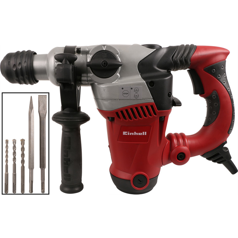 einhell rt rh 32 1250w 3 function sds plus hammer drill 230v toolstation. Black Bedroom Furniture Sets. Home Design Ideas