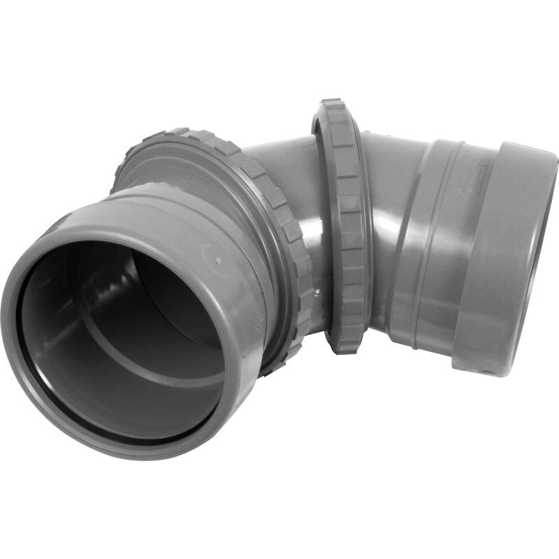 Adjustable Bend 0 90 176 Grey Toolstation
