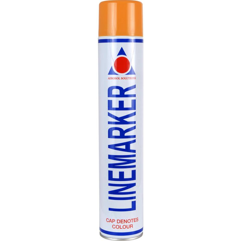 Line Marking Spray Paint 750ml Orange Toolstation