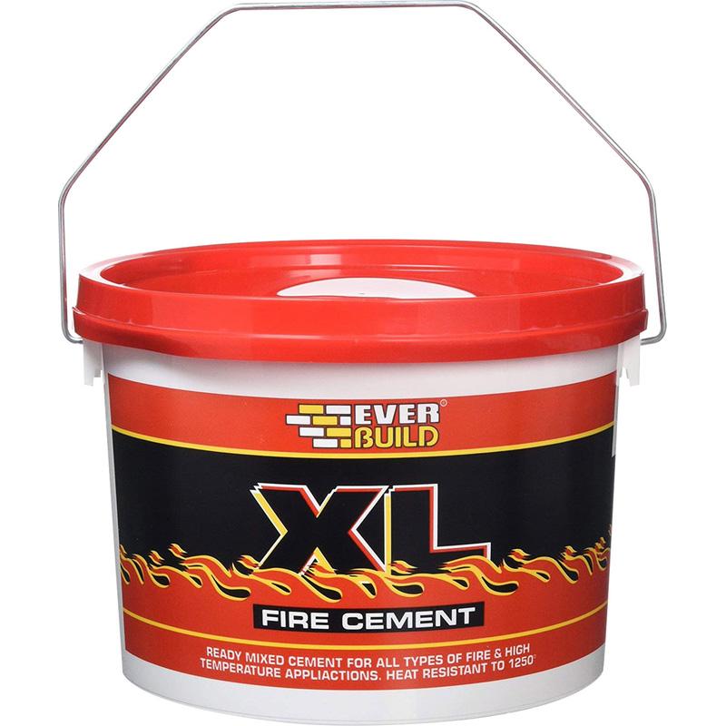 High Alumina Fire Cement : Fire cement kg grey toolstation