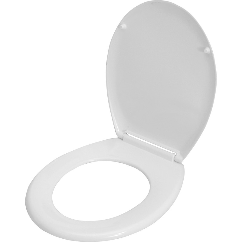 Bathroom Light Fittings Toolstation: Celmac Wirquin Melody Thermoset Toilet Seat Soft Close