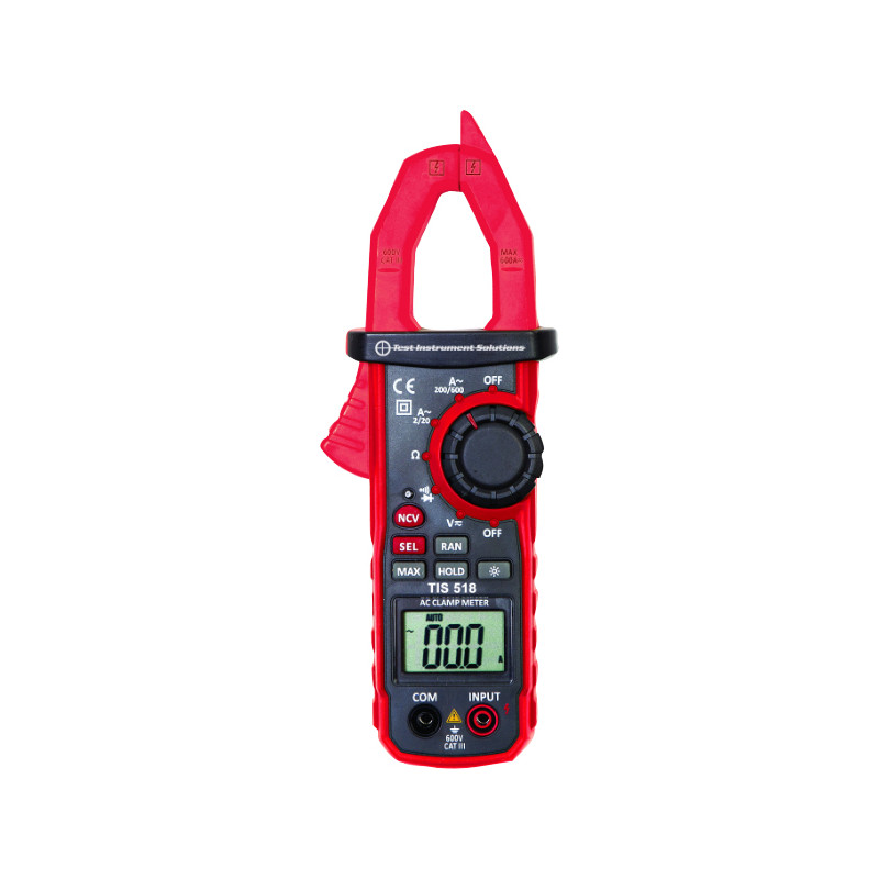Electrical Clamp Meter : Tis amp ac clamp meter toolstation