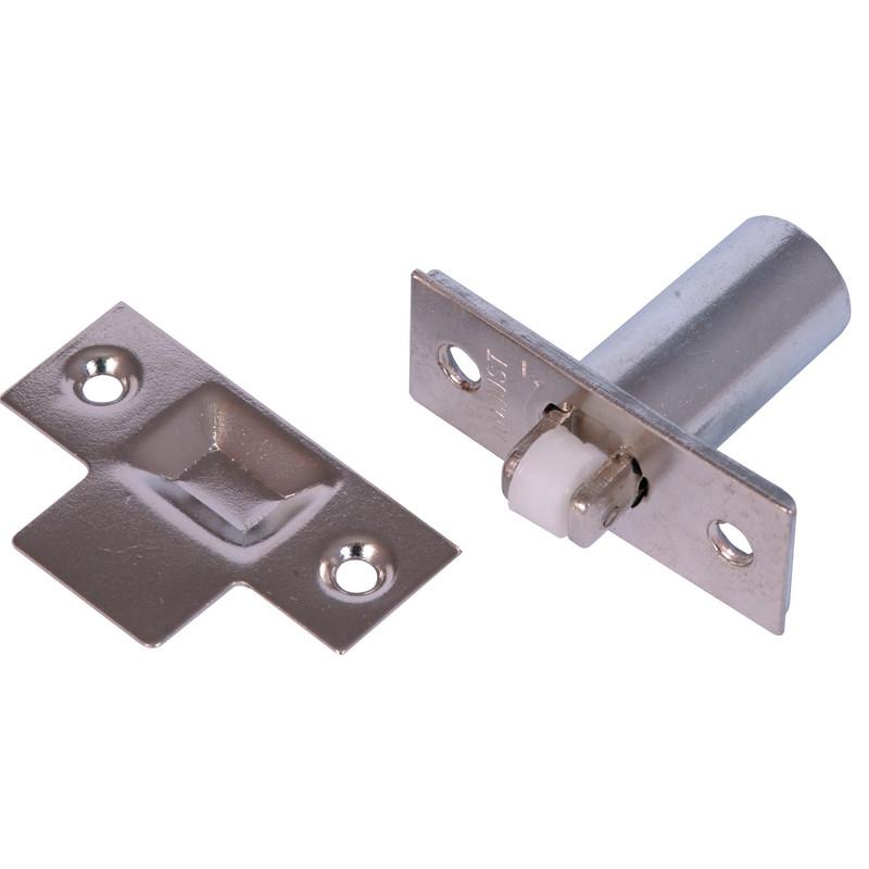 Adjustable Roller Catch Nickel Toolstation
