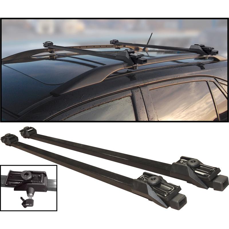 Anti Theft Lockable Universal Roof Bar 1250mm Length