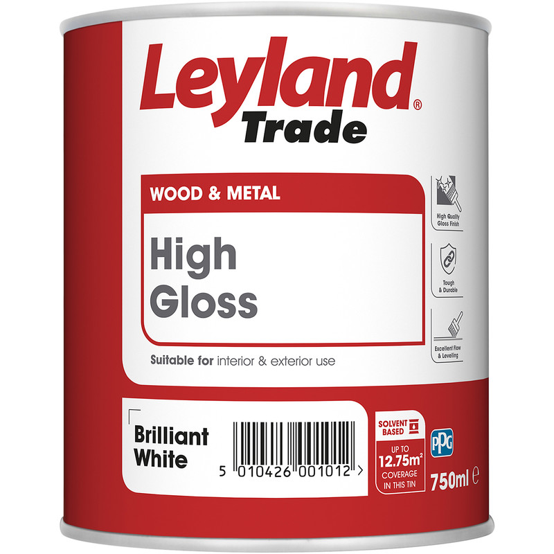 Leyland White Gloss Paint