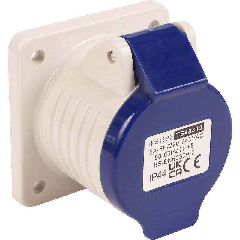 Industrial panel socket ip44 230v 16a toolstation - Prise 32 ampere ...