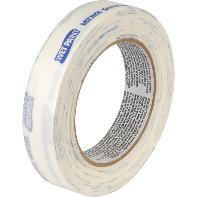 Kleenedge 14 day low tack masking tape 25mm x 50m for Decoration masking tape