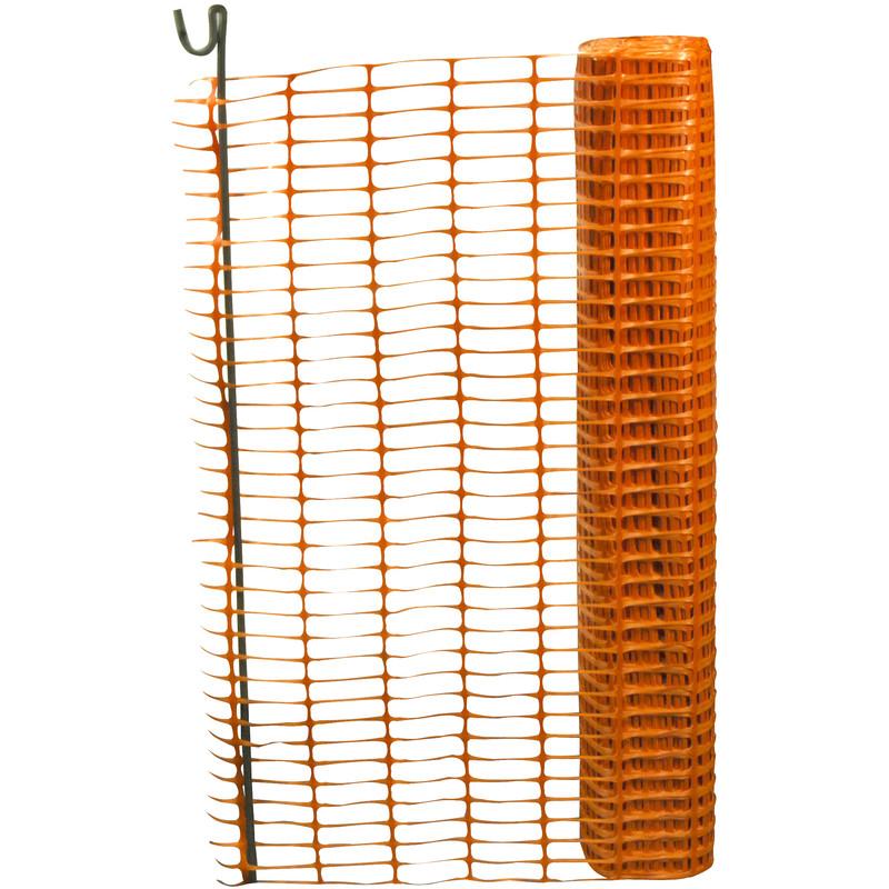 Orange Safety Fencing 1m X 50m Toolstation