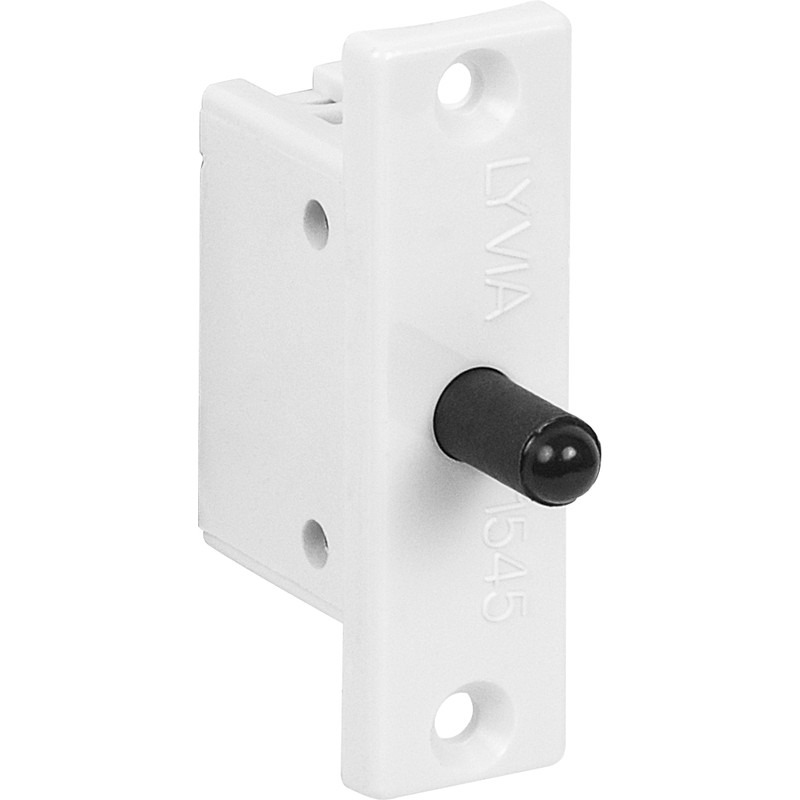 Image is loading NEW-3-X-Electrical-White-Flat-Plate-Mortice-  sc 1 st  eBay & NEW 3 X Electrical White Flat Plate Mortice Door Switch Push to ...