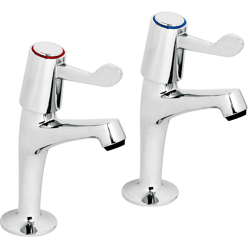contract kitchen lever sink pillar taps toolstation. Black Bedroom Furniture Sets. Home Design Ideas