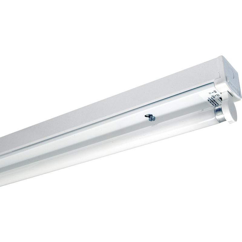 fluorescent batten fitting lpf 1200mm 36w single toolstation. Black Bedroom Furniture Sets. Home Design Ideas