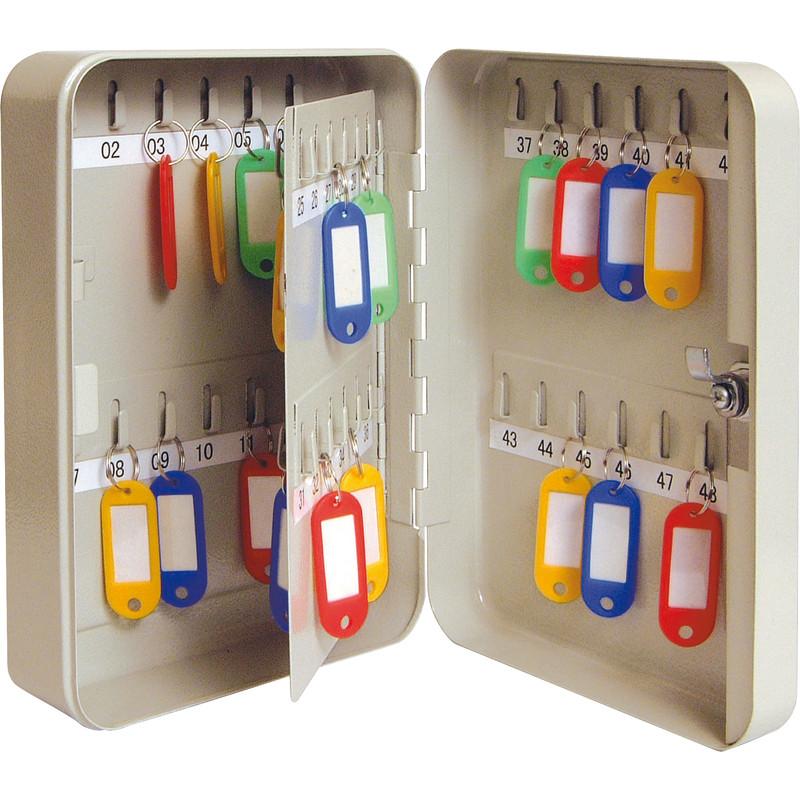 Key Cabinet 48 Hooks Toolstation