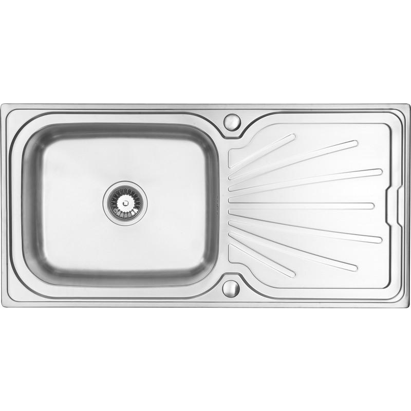 Large Deep Kitchen Sink : ... Steel Large Bowl Kitchen Sink & Drainer 1000 x 500 x 210mm Deep