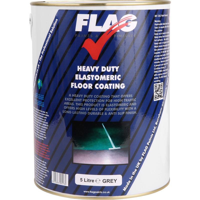 Heavy Duty Floor Coatings : Heavy duty elastomeric floor paint l grey toolstation