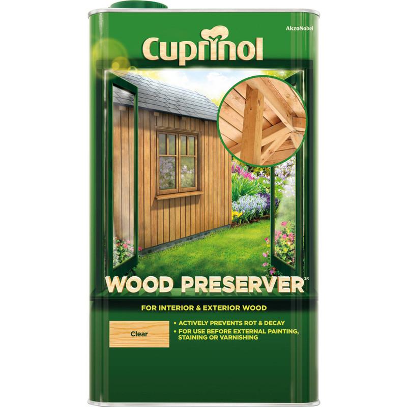 Cuprinol Wood Preserver 5L Clear Toolstation