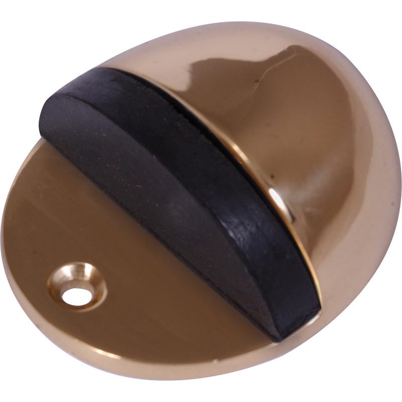 floor door stop brass toolstation. Black Bedroom Furniture Sets. Home Design Ideas